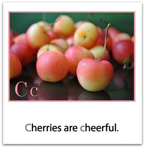 c-is-for-cherry-border