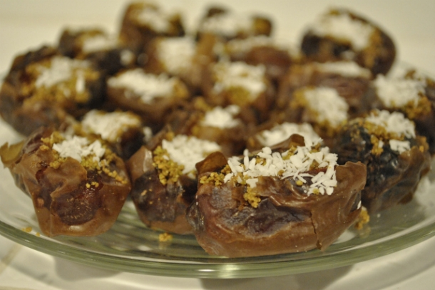 ... on whole living for pistachio stuffed dates with coconut and knew i