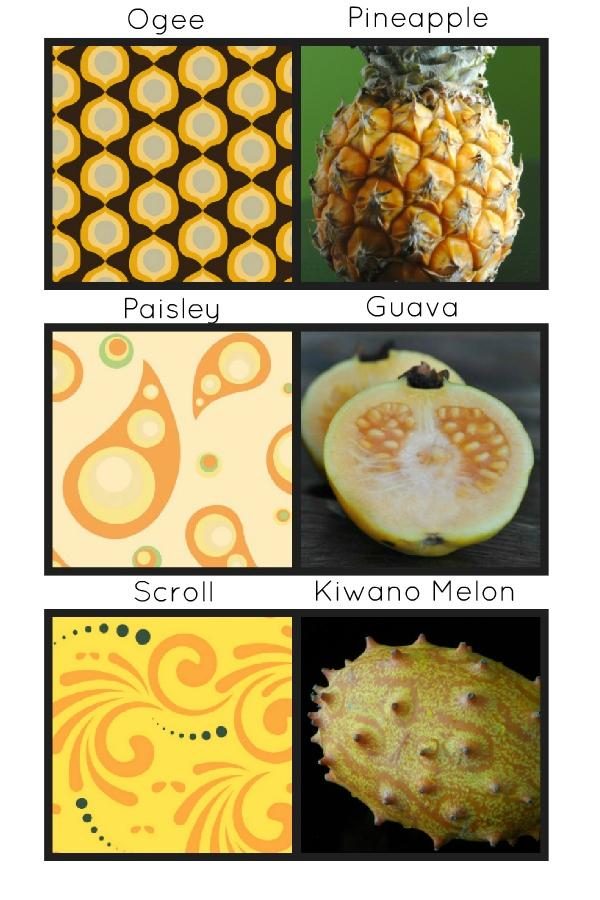 scroll pattern paisley pattern ogee pattern in fruit