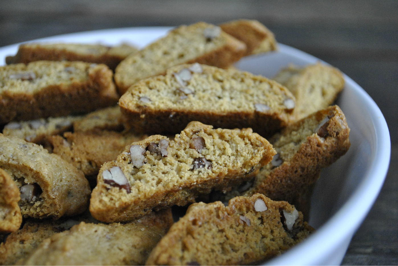 Spiced Sapote Biscotti Cookies