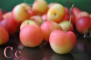 Cherries are cheerful